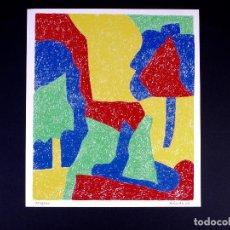 Arte: SERIGRAFÍA DE FRANCISCO ALISEDA. BILBAO ARTE. Lote 160802674