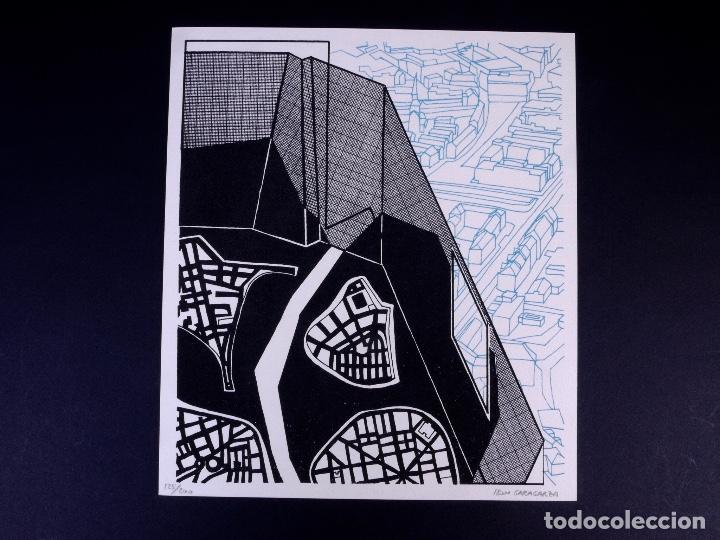 SERIGRAFÍA DE IBON GARAGARZA. BILBAO ARTE (Arte - Serigrafías )