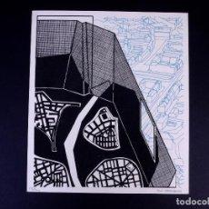 Arte: SERIGRAFÍA DE IBON GARAGARZA. BILBAO ARTE. Lote 160802762