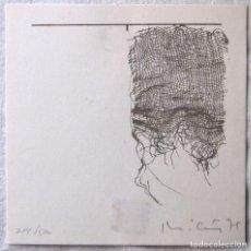 Arte: MICUS. SERIGRAFÍA 14,5 X 14 CM. 204/500, AÑO 1975. FIRMADA. EDITADA POR G. CARL VAN DER VOORT. Lote 160847130