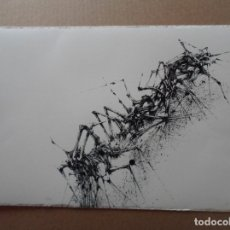 Arte: MANUEL RIVERA (GRANADA, 1927-MADRID, 1995) SERIGRAFÍA 1980 DE 32X49CMS, FIRMADA LÁPIZ Y NUM 17/350. Lote 122153915
