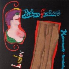 Arte: RICHARD LINDNER, SERIGRAFÍA FIRMADA DE 1968. Lote 162005786