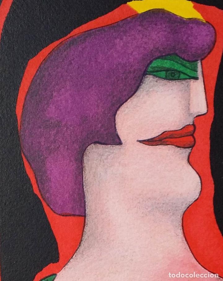 Arte: Richard Lindner, serigrafía firmada de 1968 - Foto 4 - 162005786
