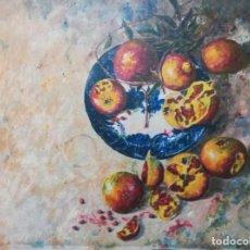 Arte: PLATO CON GRANADAS .JUAN FERNANADEZ. Lote 163333510