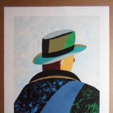 Arte: EDUARDO ARROYO (MADRID 1937-2018) SERIGRAFÍA 2015 DE 66X50CMS EN PAPEL 79X61 FIRMADA Y EA SOLO /30. Lote 163955614