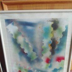 Arte: COMPOSICIÓN MIXTAS ASTRACTO 60 X 40. Lote 164580254