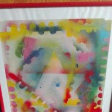 Arte: COMPOSICIÓN MIXTAS ASTRACTO 60 X 40. Lote 164580406