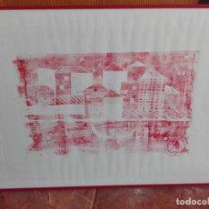 Arte: COMPOSICIÓN MIXTAS ASTRACTO 60 X 40. Lote 164580538