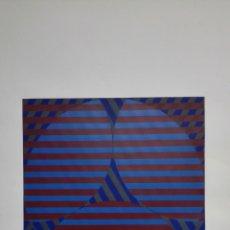 Arte: SERIGRAFIA FIRMADA SIN IDENTIFICAR, MEDIDAS 50 X 70 CM, Nº 341/500. Lote 165496254