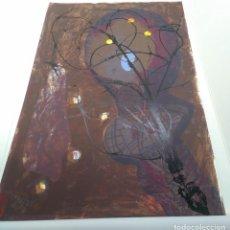 Arte: PRECIOSA SERIGRAFIA A 8 TINTAS DE GERMAN DIEZ ORIGINAL Y FIRMADA. Lote 166459746