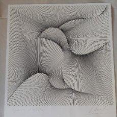 Art: ÁNGEL DUARTE. SERIGRAFÍA FIRMADA, PRUEBA DE ARTISTA.. Lote 217882608