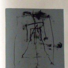 Arte: HUGO SOLSCHAK. SERIGRAFÍA ABSTRACCIÓN. NUMERADA 14/60. FIRMADA A MANO. 1991. 36X25 CM. PAPEL GUARRO.. Lote 167617268