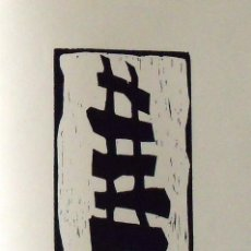 Arte: MONTSE GASULL. SERIGRAFÍA ABSTRACCIÓN. NUMERADA 14/60 FIRMADA A MANO. 1991. 36X25 CM. PAPEL GUARRO.. Lote 167618164