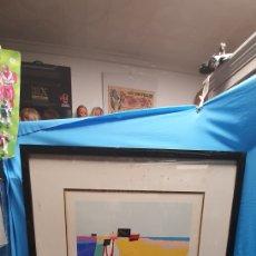Arte: BONITA Y COLORIDA SERIGRAFIA FIRMADA Y NUMERADA 293 / 300. Lote 168295421