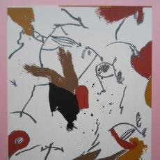 Arte: JOSEP GUINOVART (BARCELONA, 1927-2007) SERIGRAFÍA 1984 DE 23X32CMS, FIRMADA LÁPIZ Y NUMERADA 66/115.. Lote 137912238