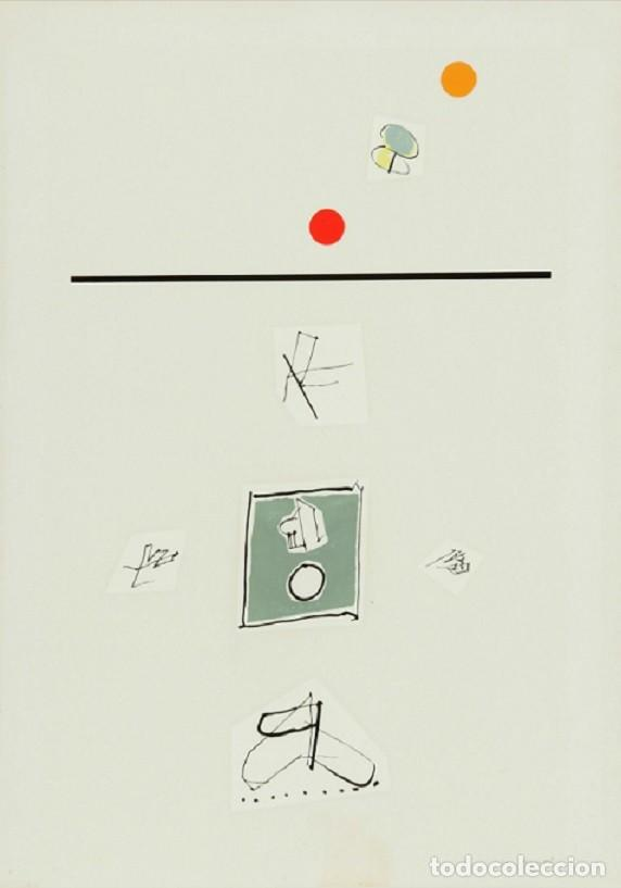 MANUEL HERNANDEZ MOMPÓ - SERIGRAFIA FIRMADA A LÁPIZ Y ENMARCADA (Arte - Serigrafías )