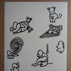 Arte: JAVIER PAGOLA (SAN SEBASTIÁN, 1955) SERIGRAFÍA 1988 DE 22X32CMS, FIRMADA LÁPIZ Y NUMERADA 90/100. Lote 159700474