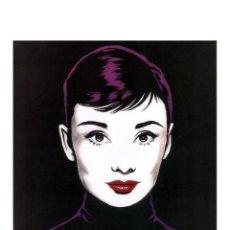 Arte: AUDREY HEPBURN - POP ART ANTONIO DE FELIPE. Lote 168468044