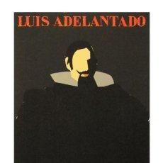 Arte: MANOLO VALDES . ENORME SERIGRAFÍA ORIGINAL . 116 X 68.5 CM . EL CONDE DUQUE .. Lote 168502800