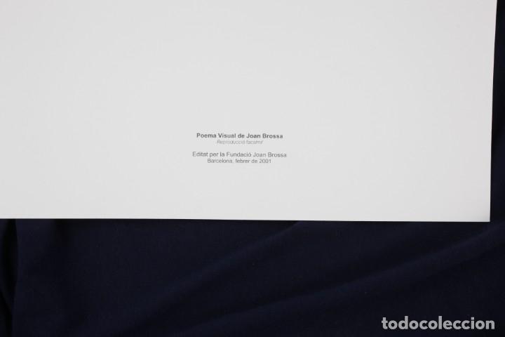 Arte: Serigrafia de Joan Brossa, sobre, edición facsímil, 2001, Barcelona. - Foto 2 - 169293900