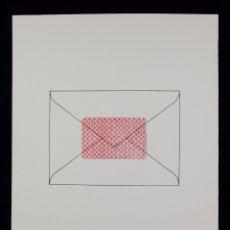 Arte: SERIGRAFIA DE JOAN BROSSA, SOBRE, EDICIÓN FACSÍMIL, 2001, BARCELONA.. Lote 169293900