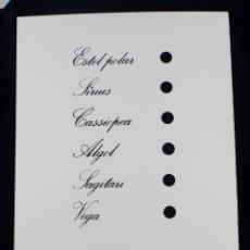 Arte: SERIGRAFÍA DE JOAN BROSSA, POEMA VISUAL, PLACA DE TIMBRES, EDICIÓN FACSÍMIL, 2001, BARCELONA 50X35CM. Lote 169564840