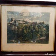 Arte: PALACIO DE CARLOS V EN LA ALHAMBRA - SERIGRAFIA P. S. XX. Lote 171422287