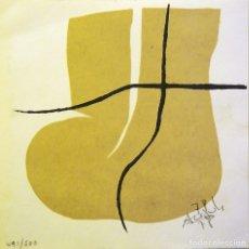Art: ACISCLO MANZANO-SERIGRAFIA (13,5X13,5 CMS). Lote 174650314