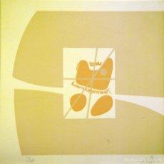Art: ACISCLO MANZANO-SERIGRAFIA (13,5X13,5 CMS). Lote 174650563