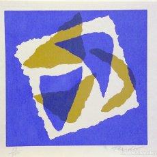 Arte: FERNANDO TEIXIDOR-SERIGRAFIA (13,5X13,5 CMS). Lote 174653592