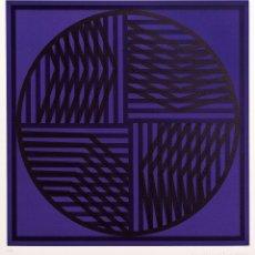 Arte: COMPOSICIÓN - EUSEBIO SEMPERE ( VALENCIA, 1923-1985) - 76 X 55,5 CMS.. Lote 174960083