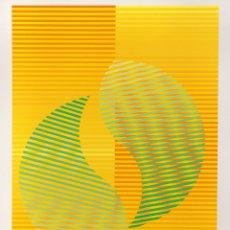 Arte: COMPOSICIÓN - EUSEBIO SEMPERE ( VALENCIA, 1923-1985) - 66 X 50 CMS. Lote 174960367
