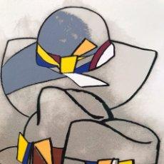 Arte: EDUARDO URCULO - LA GRAN DAMA - SERIGRAFÍA. Lote 175363655