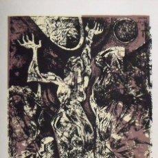 Arte: RAUL CAPITANI. SERIGRAFÍA LA FUERZA DE LA MUJER. NUMERADA 14/60. FIRMADA A MANO. 1991. 36X25 CM.. Lote 175751717