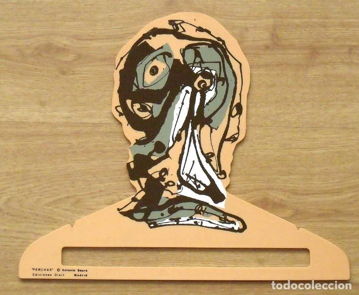 ANTONIO SAURA. PERCHA DE COLOR CARNE. EDICIONES DIART. MADRID. 1982. 34X41 CM. SERIGRAFÍA. (Arte - Serigrafías )