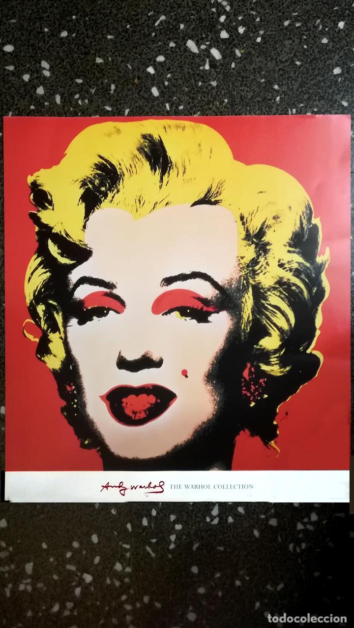 Arte: Lamina , POSTER de - Andy Warhol - Marilyn Monroe - The Warhol Colecction - Tamaño 70 x 67 cms - Foto 2 - 175928983