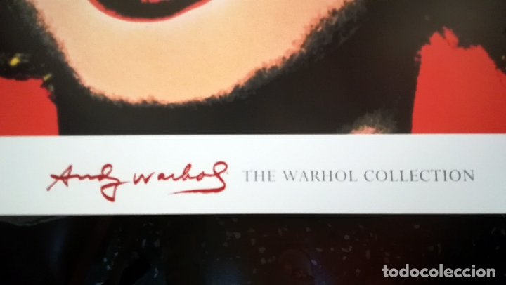 Arte: Lamina , POSTER de - Andy Warhol - Marilyn Monroe - The Warhol Colecction - Tamaño 70 x 67 cms - Foto 4 - 175928983