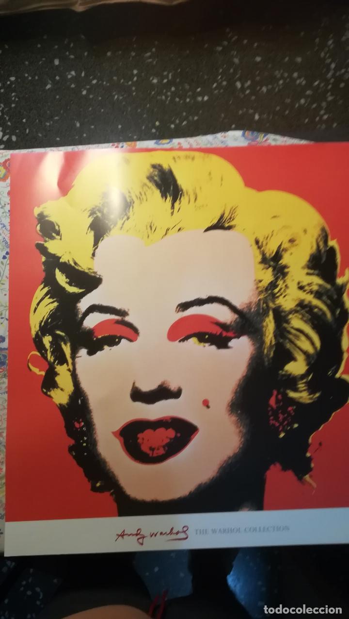 Arte: Lamina , POSTER de - Andy Warhol - Marilyn Monroe - The Warhol Colecction - Tamaño 70 x 67 cms - Foto 5 - 175928983