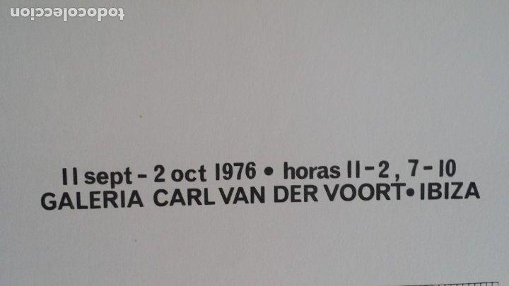 Arte: Joan HERNANDEZ PIJUAN, serigrafía, solo 15 ejemplares, V. der VOORT, 1976 - Foto 8 - 177061168