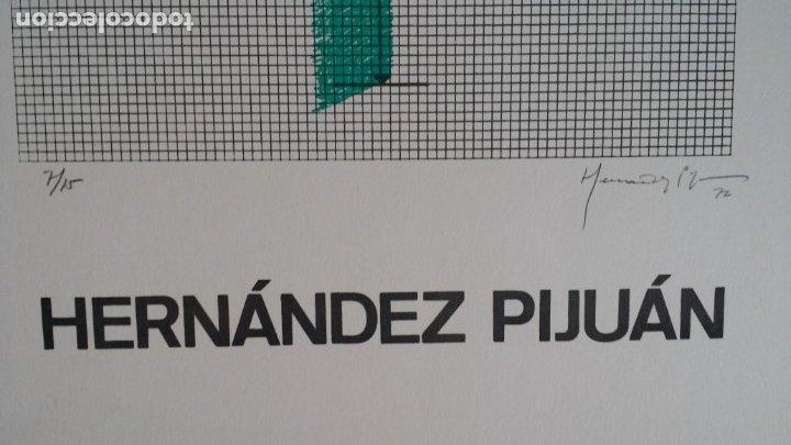 Arte: Joan HERNANDEZ PIJUAN, serigrafía, solo 15 ejemplares, V. der VOORT, 1976 - Foto 4 - 177061168