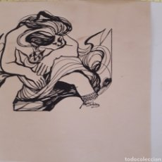 Arte: SERIGRAFIA FIRMADA IBAÑEZ .?. Lote 177663220