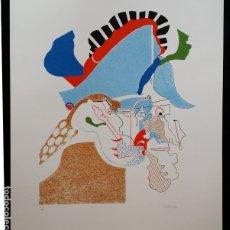 Arte: SIMON DITTRICH, SERIGRAFÍA DE 1969, CANDIDO, FIRMADA Y NUMERADA, 50 EJEMPLARES. Lote 178223330