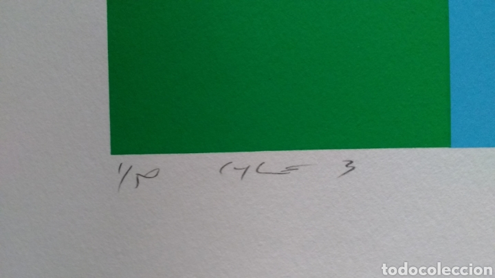 Arte: Jay Rosemblum. Serigrafía firmada y numerada. - Foto 2 - 178362923