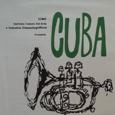 Arte: CUBA BAILA, SERIGRAFIA CARTEL DEL ICAIC, 1968. Lote 179184155