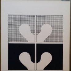 Arte: JUAN MARTINEZ, SERIGRAFÍA DE GRAN TAMAÑO DE 1972. Lote 179320081