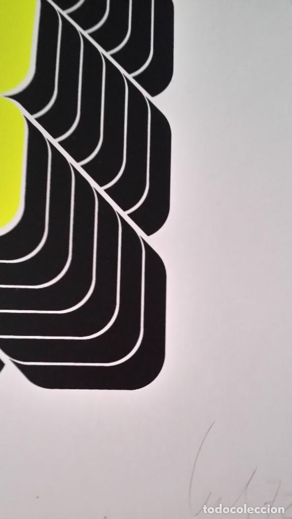 Arte: THOMAS LENK: Serígrafía, 1972 / firmada y numerada a lápiz - Foto 10 - 52458709