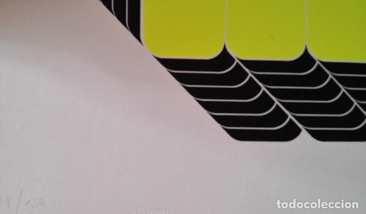 Arte: THOMAS LENK: Serígrafía, 1972 / firmada y numerada a lápiz - Foto 11 - 52458709