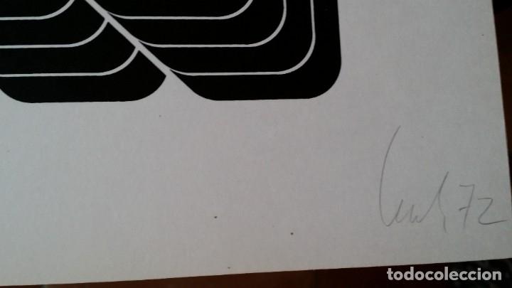 Arte: THOMAS LENK: Serígrafía, 1972 / firmada y numerada a lápiz - Foto 14 - 52458709