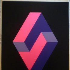 Arte: JOSE Mª YTURRALDE. SERIGRAFIA ORIGINAL. 1972. FIRMADA. EDICIÓN 50/125.. Lote 180021407