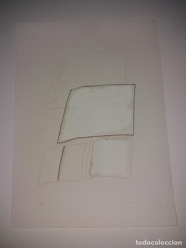 Arte: TEORIAS DE IBIZA DE BECHTOLD ERWIN. OBRA GRAFICA. SERIGRAFIA 38 X 28,5 CM. FIRMADA Y NUMERADA. - Foto 2 - 180191492